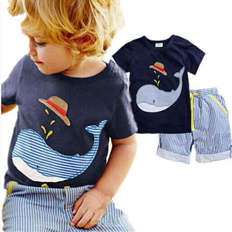 New Arrival Set Whale Boy Aliexpress Buy Retail 2016 Summer Baby Boys New
