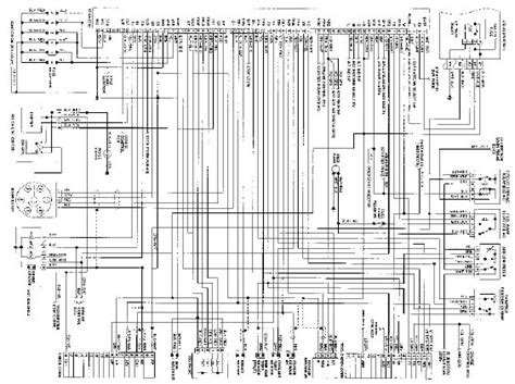 1995 toyota 4runner wiring diagram auto engine and parts