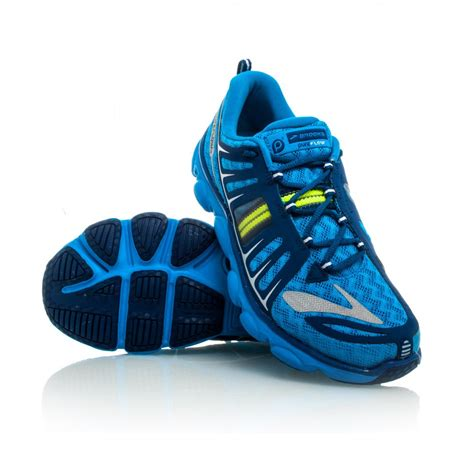 brook shoes pureflow 2 running shoes blue navy