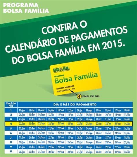 95 calendario do bolsa familia de 2017 bolsa fam 237 lia confira o calend 225 rio anual de pagamento