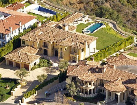 kanye west and kim kardashian house aerial views of kim kardashian and kanye west s new home zimbio