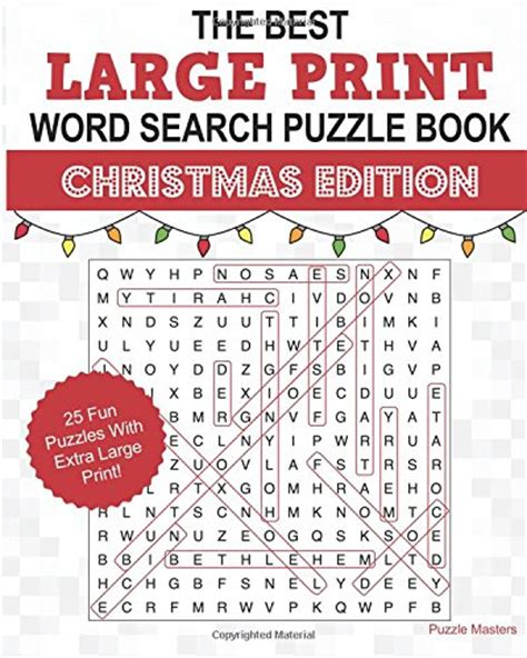 stuffers for gift word search puzzle book collection of large print word find puzzles for boys books the best large print word search puzzle book a