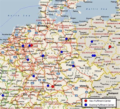 amazon jerman amazon distribution network strategy mwpvl international