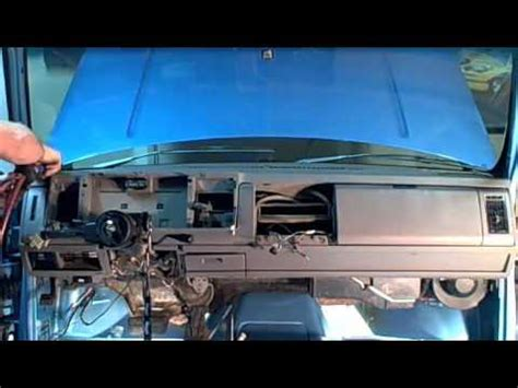 1993 chevy dash removal quot how to