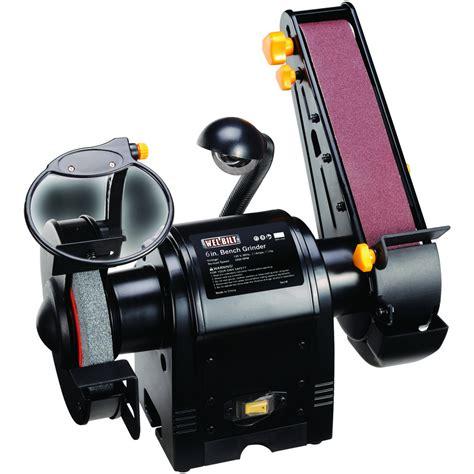 ironton 6 in bench grinder w sanding belt grinders