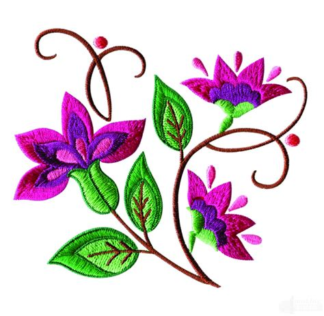 Design Embroidery Online | a birds paradise jf305 embroidery design