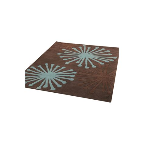 infinite starburst choco teal rug only available at carpet