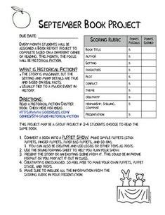 mystery book report projects free rubric for a book review grades 3 5ish great way to