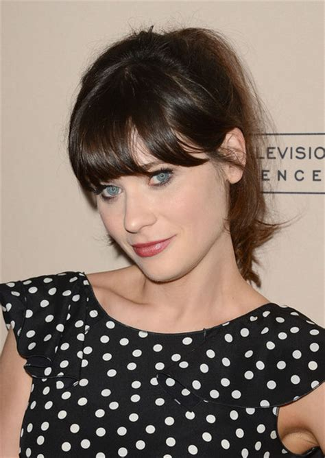 what are the bangs that have a deep part and go across youur forhead stylenoted search results zooey