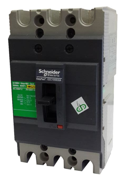 Mccb Ezc Breaker Easypact Schneider Ezc100h 3p 60a jual breaker mccb schneider ezc100b 3p 15 20 25 30 40 50 a jb electric