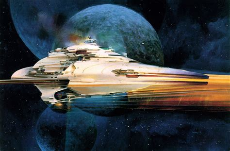 the art of john the beautiful space art of john berkey gizmodo australia
