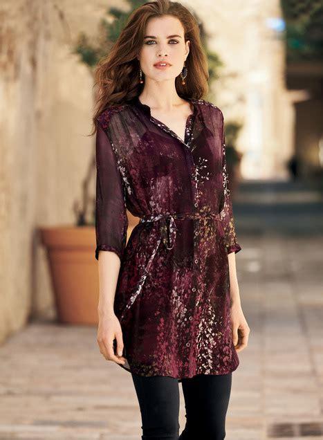 batika top blouse tunik free kalung image gallery silk tunic
