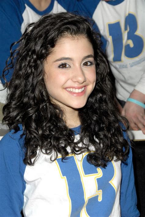 wiki frizzy hair image ariana with shoulder length curls jpg ariana