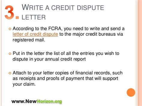 Luxurious Credit Dispute Letter Tips To Dispute Errors Of Your Credit Report