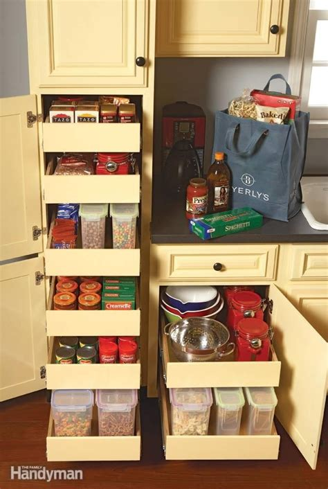 handyman kitchen cabinets kitchen storage cabinet rollouts a well the family