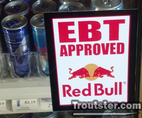 can u buy energy drinks with ebt why can buy bull on food sts