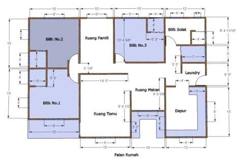 layout plan rumah pelan rumah bina rumah sendiri