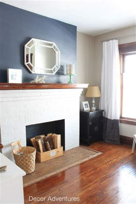 fireplace accent walls on builders