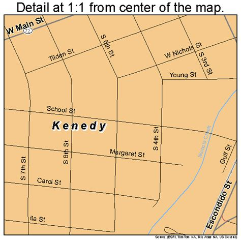 kennedy texas map kenedy texas map 4838860