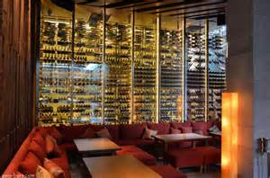 Restaurant wine cellar design sushi bar counter design ny finance