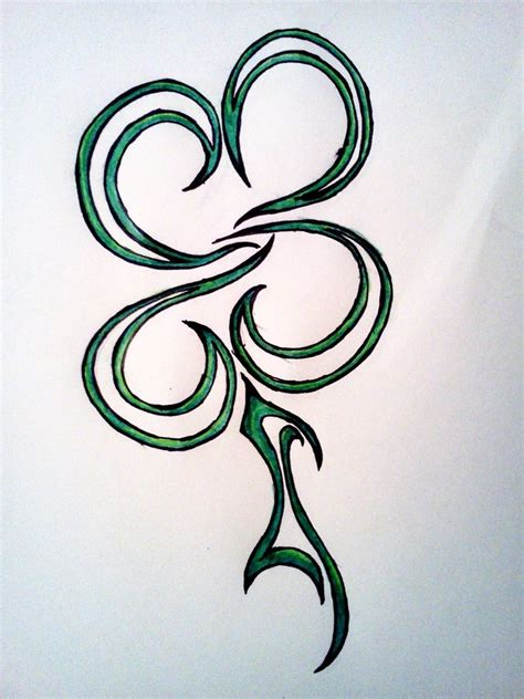 tribal clover tattoo largest things in the world 15 drop dead gorgeous tribal
