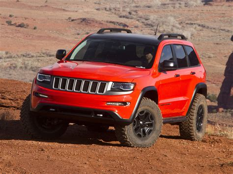 2013 Jeep Grand Trailhawk 2013 Jeep Grand Trailhawk Offroad 4x4 Concept