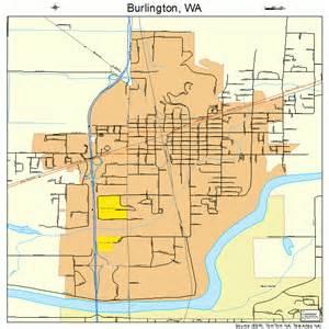 burlington washington map 5308920