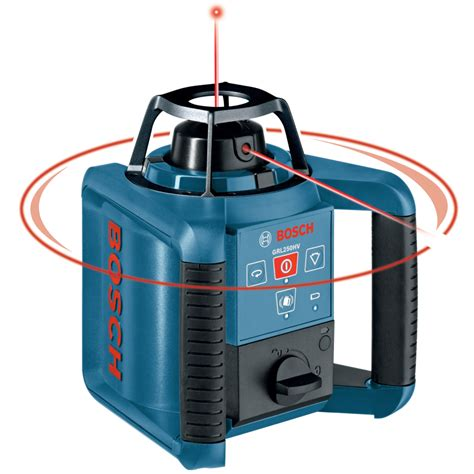 bosch laser level shop bosch 800 ft beam self leveling rotary laser level at lowes
