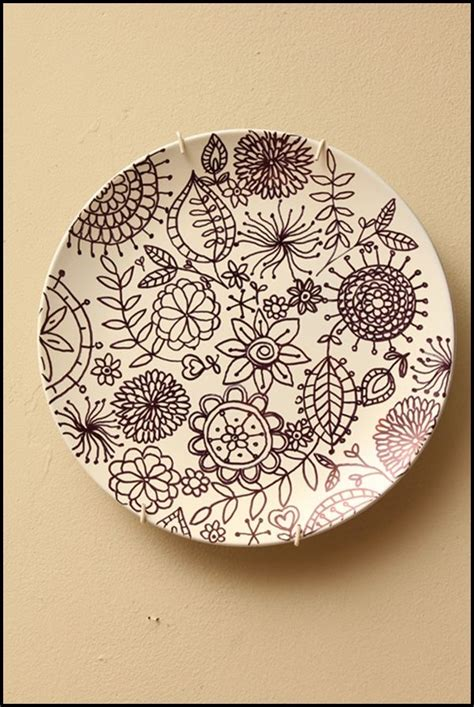 Painting Pottery by 793 Best Dinner Plate Decorations Images On