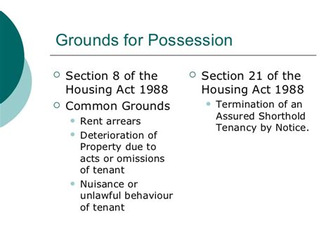 section 13 housing possession and money judgments curtos solicitors