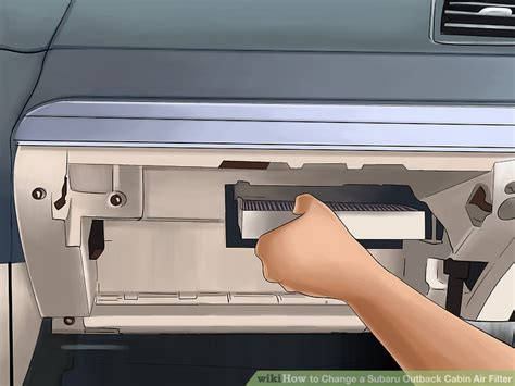 subaru outback cabin air filter replacement how to change a subaru outback cabin air filter 9 steps