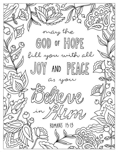christian coloring pages with verses 17 best images about coloring pages on pinterest