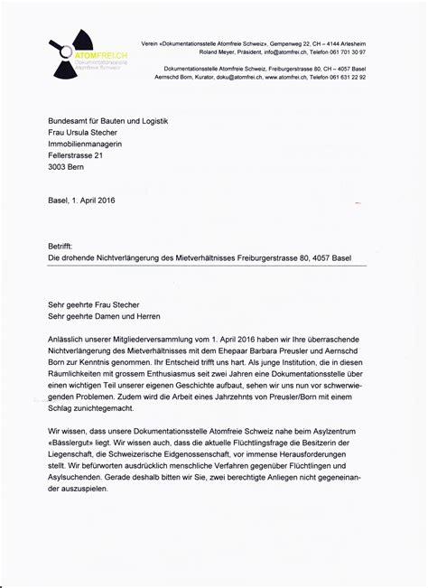 Und Verbleiben Mit Freundlichen Grüßen Brief Brief An Vermieter Samstag 02 April 2016 News Seiteninhalt News News Home Atomfrei