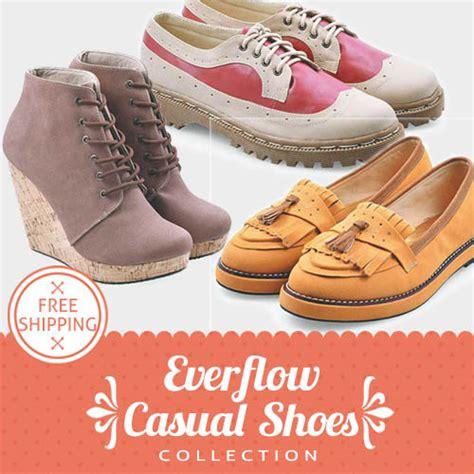 Sepatu Wedges Casual buy freeshipping jabodetabek bdg sepatu wanita sepatu boot sepatu wedges flat shoes