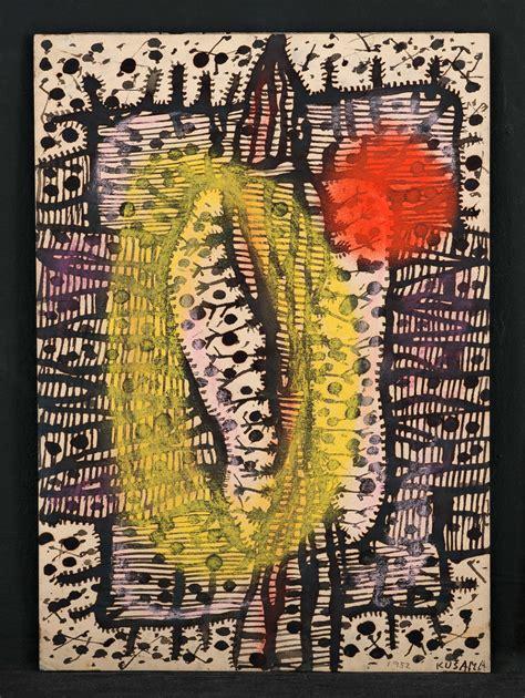 Plakat Yayoi Kusama by Biography Moderna Museet I Stockholm