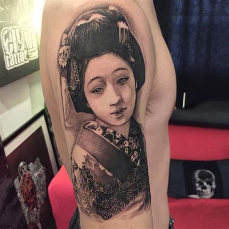 geisha tattoo on a man geisha tattoos askideas com