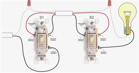leviton single pole throw switch wiring diagram