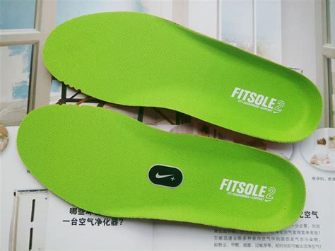 Nike Air Max Fitsole3 nike fitsole ortholite insole inserts light green
