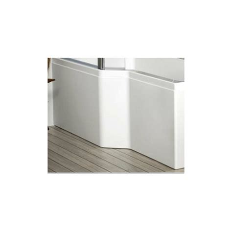 carron shower bath carron edge shower bath front panel 1575 x 540mm
