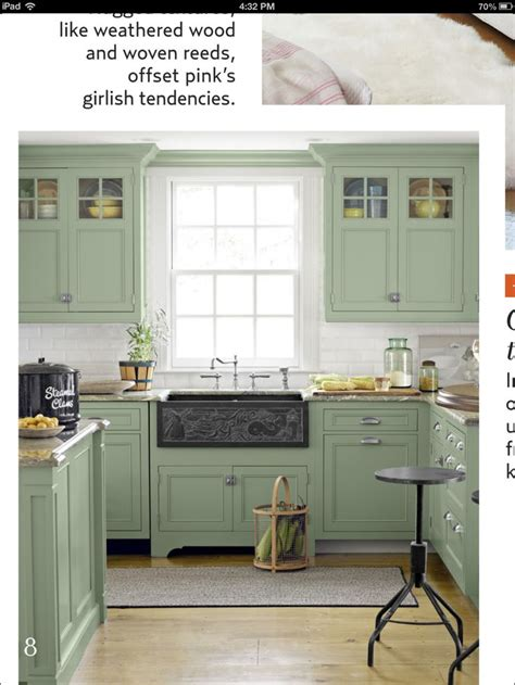 kitchens with green cabinets pin by keah payne on painting color ideas pinterest