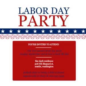 labor day invitations labor day patriotic invite