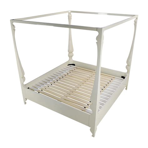 four poster bed frame king 85 reeves louis four poster king bed frame beds
