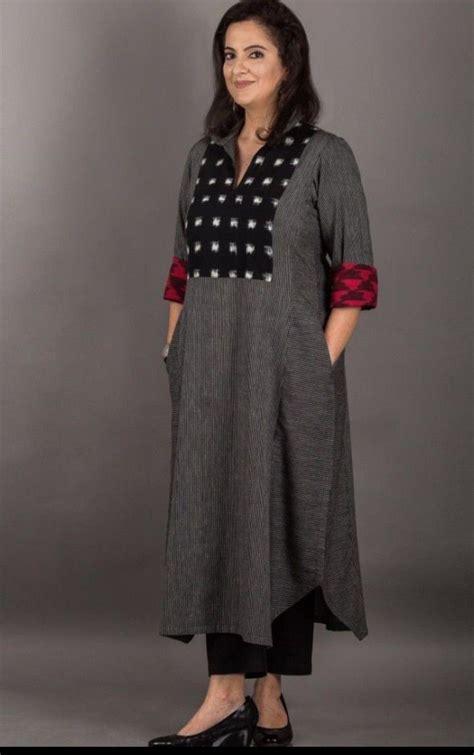 cotton linen kurti simple  sober latestwomenswear