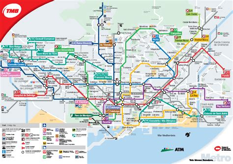 barcelona zone 1 map pin map metro barcelona xlgif on pinterest