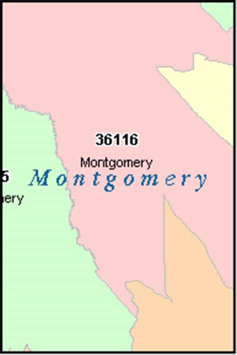 zip code map jefferson county al montgomery county alabama digital zip code map