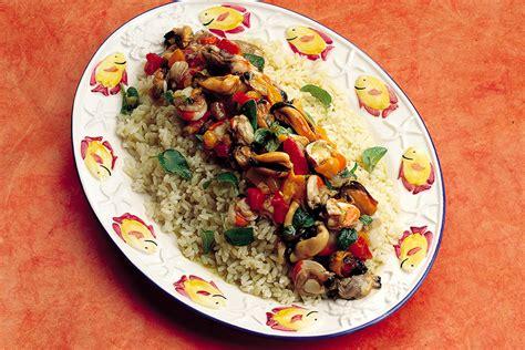 cucinare frutti di mare ricetta riso ai frutti di mare la cucina italiana