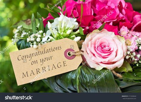 Wedding Congratulation In German by Wedding Card Pink Flowerscongratulations On Stock
