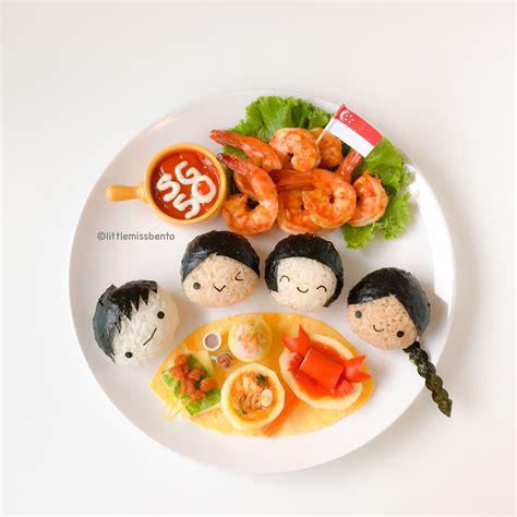 Food Drawing Dekorationpenghias Gambar Makanan Bento sg50 bento foodart miss bento