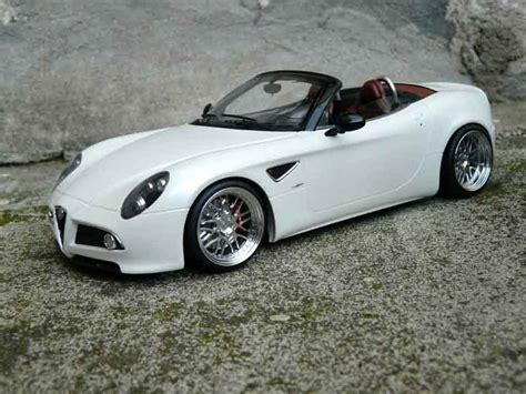 Diecast Wheels Alfa Romeo 8c Competizione Merah alfa romeo 8c competizione spider mr white wheels alu mr