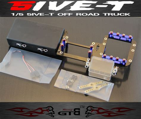 dual full version latest gtb racing dual steering servo radio tray full carbon